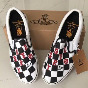 Vans classic slip on Viviane Westwood  checker wht